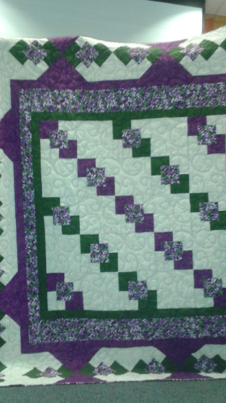 """Maggie's Wedding quilt"" by Joan Ahart"
