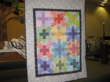 Allie's quilt is by Susan Bernal