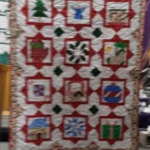 Shirley Beckmeyer, Grandson Cuddle Quilt